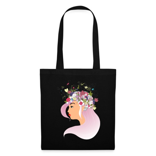 Pink Spring girl - Tote Bag