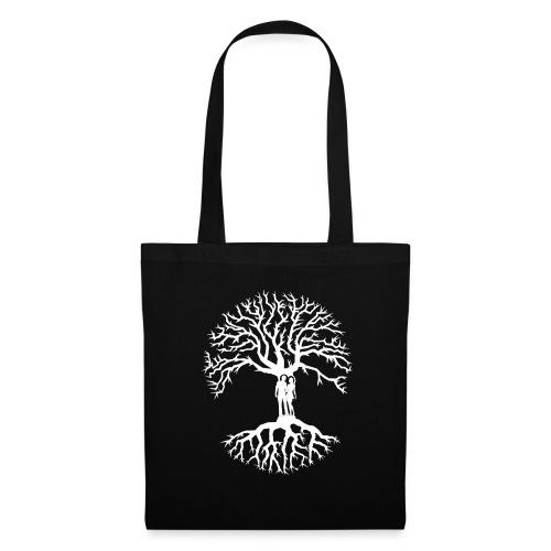 tree of life arbre de vie couple amoureux blanc - Tote Bag