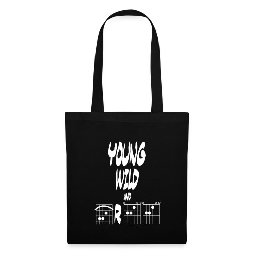 Young wild and free in guitar chords - Tote Bag