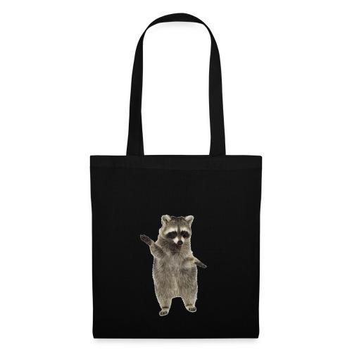 raccoon - Stoffbeutel
