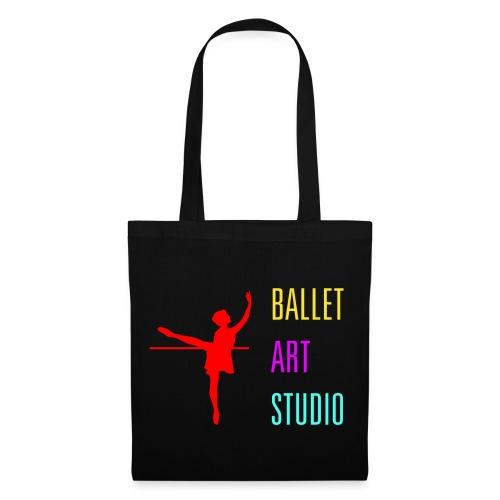 BALLET ART STUDIO BASICS BUNT LOGO / SCHRIFT - Stoffbeutel
