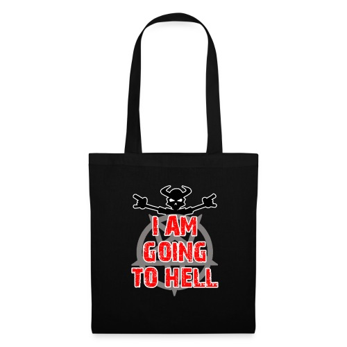 Going to hell - Slim fit - Tote Bag