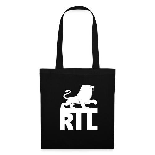 Rian The Lion White Logo - Tygväska
