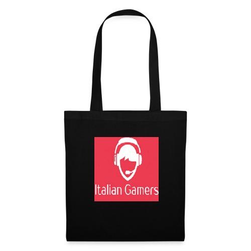 logo italian gamer - Borsa di stoffa