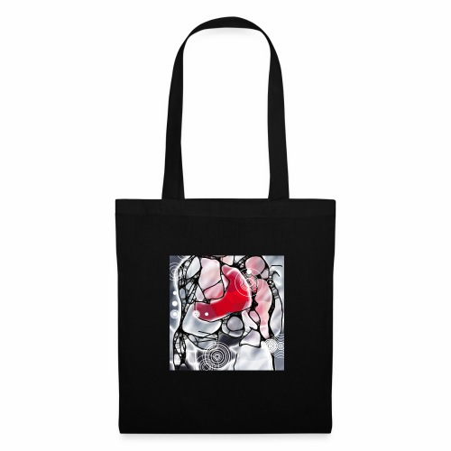 LiD, Winter Collection 2017-18, Focus in Red - Tote Bag