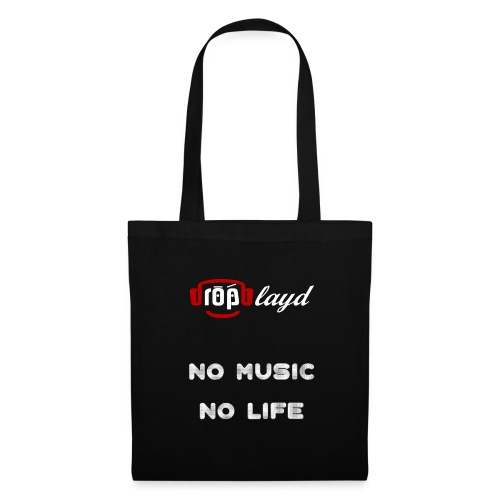 dropblayd Merch - No Music No Life - Stoffbeutel