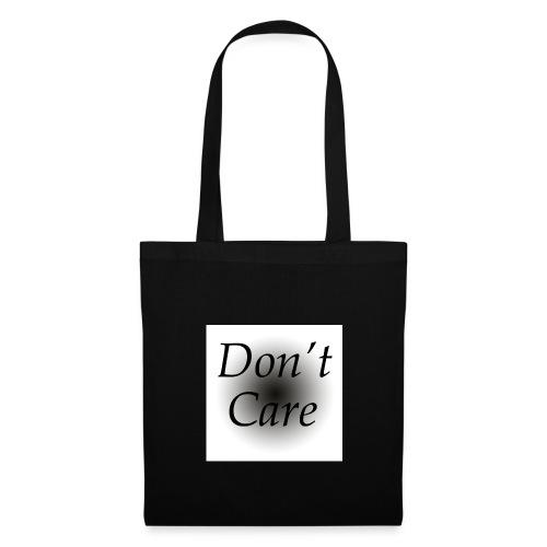 Don't care quote tas - Tas van stof