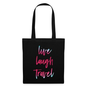 Live Laugh Travel - Stoffbeutel