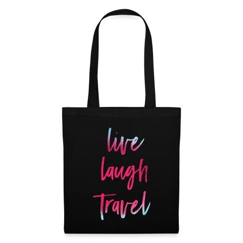 Live Laugh Travel - Stoffbeutel