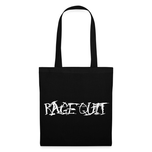 Rage Quit White Edition - Stoffbeutel