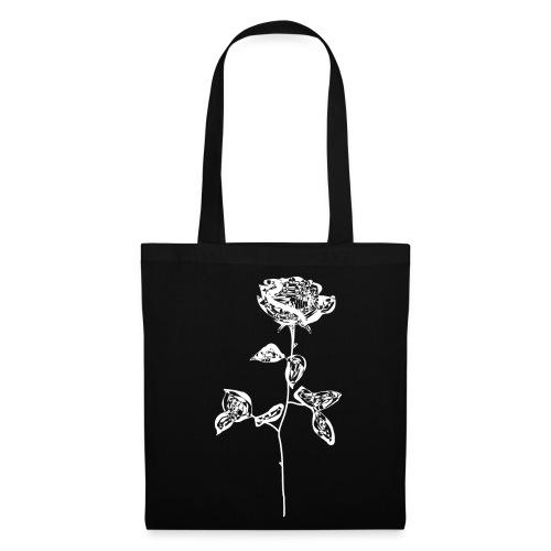 OG white rose. - Tote Bag