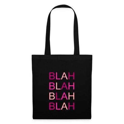 blah blah blah rose degrade - Tote Bag