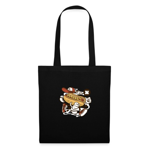 Crazy Hot Dog - Tote Bag