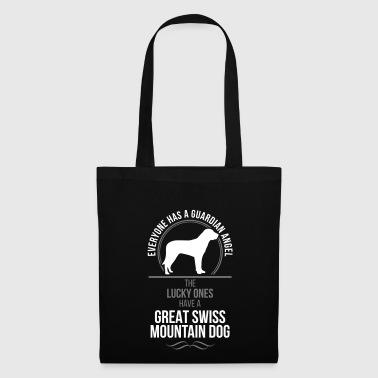 GRAN SWISS perro de montaña de ángel de guarda Wilsigns - Bolsa de tela