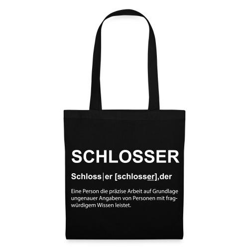 Schlosser Bezeichnung - Stoffbeutel