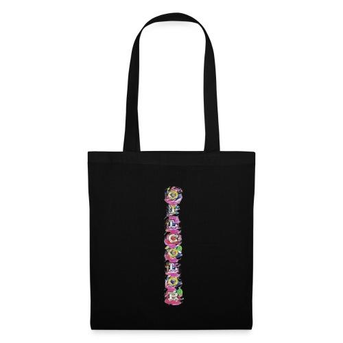 vertically oilcolor - Tote Bag