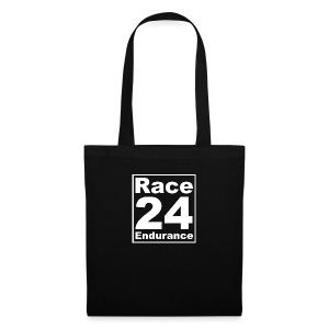 Race24 Logo - White - Tote Bag