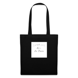 camping is in-tents - Tote Bag