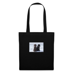 Barbets in the snow - Tote Bag