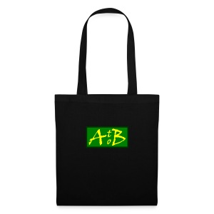 AtoB Logo green / yellow - Tote Bag