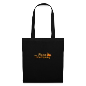 Happy Thanksgiving Words - Tote Bag