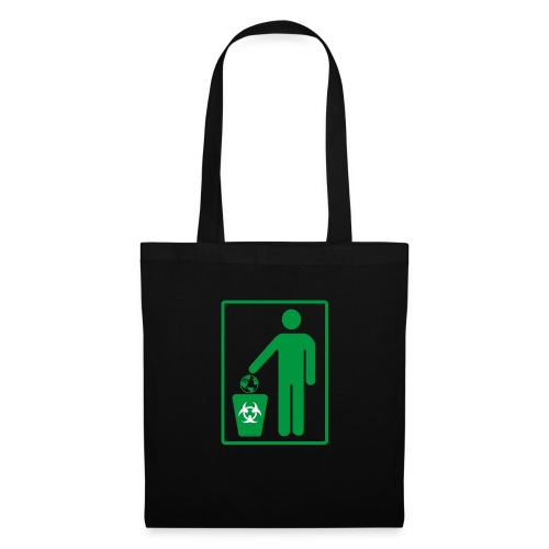 Human Trash Earth - Tote Bag