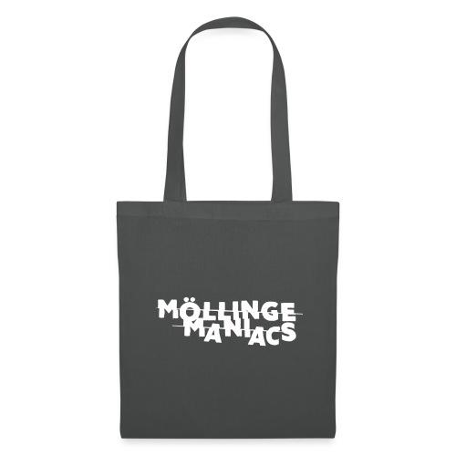 Möllinge Maniacs Vit logga - Tygväska