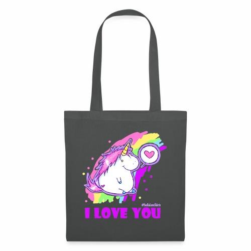 unicorn_love - Stoffbeutel