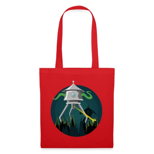 Aliens from The War of the Worlds - H. G. Wells - Borsa di stoffa