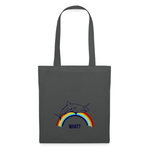 rainbow shark unicorn - Tote Bag