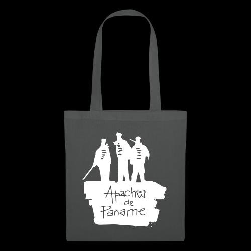 logo apache blanc - Tote Bag