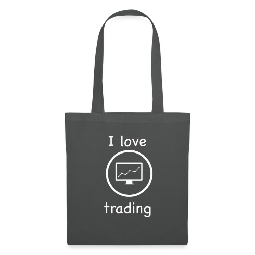 i love trading - Borsa di stoffa