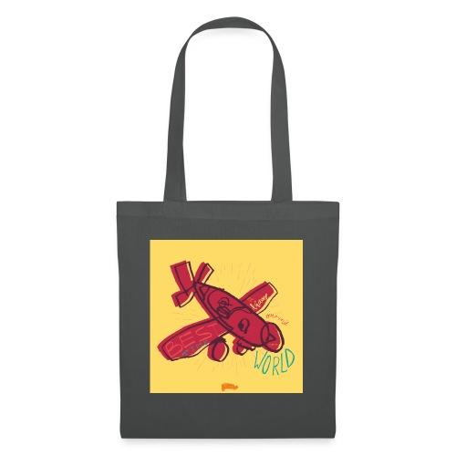 avion - Sac en tissu