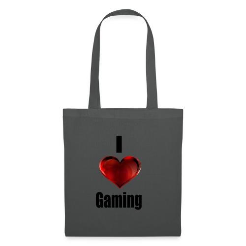 i love gaming - Stoffbeutel