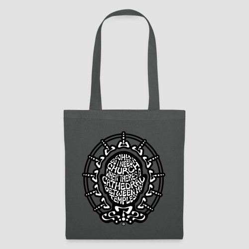 FREE THINKER (b/w) - Tote Bag