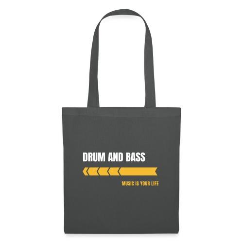 Drum & Bass - Borsa di stoffa