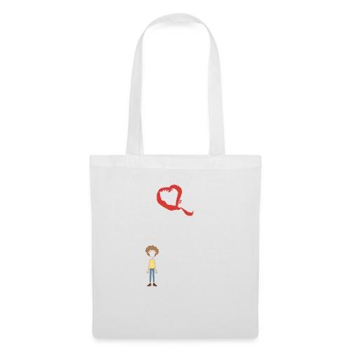 I love Red wine & my Husband Couples Pairs Wedding - Borsa di stoffa