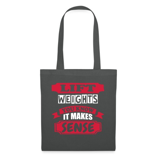 Lift Weights - Tote Bag