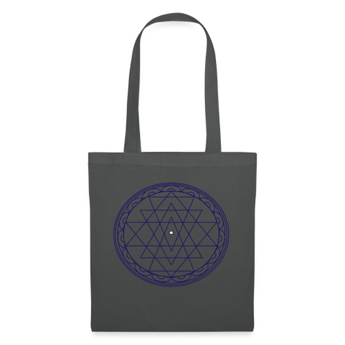 isacred geometry violet - Borsa di stoffa
