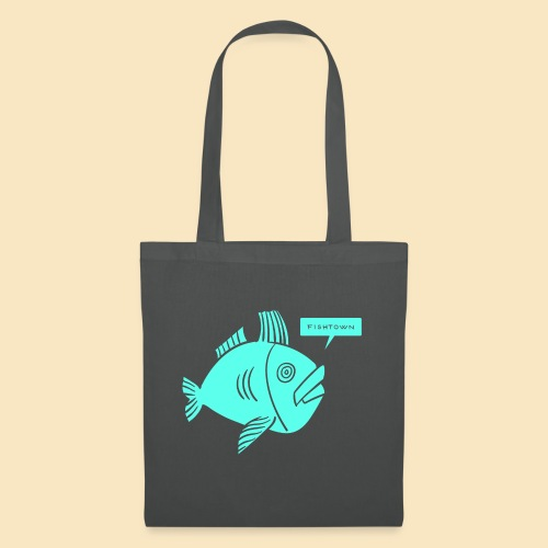 Fishtown Singlefish Motiv 001 - Stoffbeutel