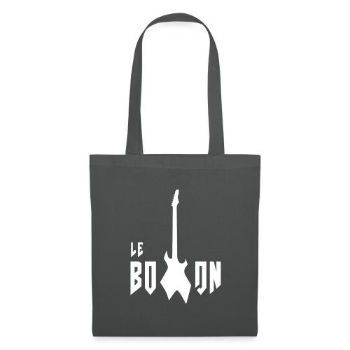 logo blanc le boxon - Tote Bag