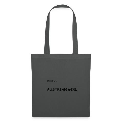 AUSTRIAN GIRL für wahre österreicherinnen - Stoffbeutel