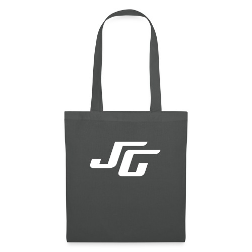 JG Logo weiss - Stoffbeutel