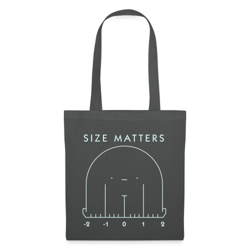 Size Matters Monster - Tote Bag