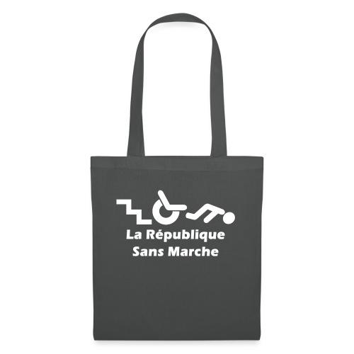 La République Sans Marche - Blanc - Tote Bag