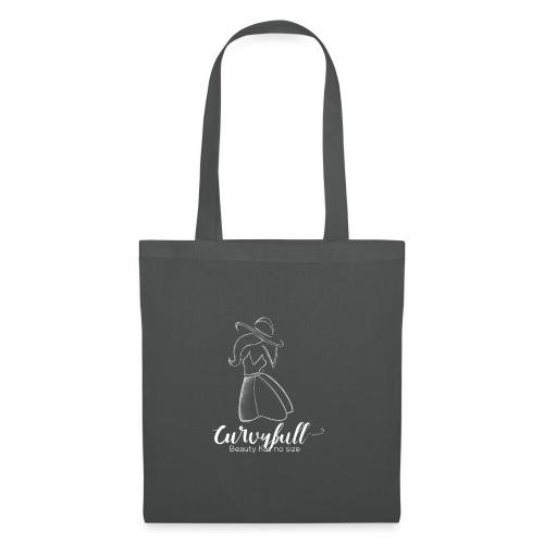 Curvyfull White - Stoffbeutel