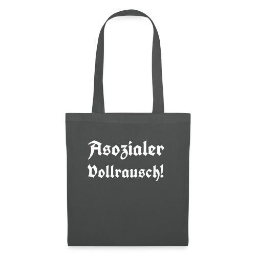 Asozialer Vollrausch3 - Stoffbeutel