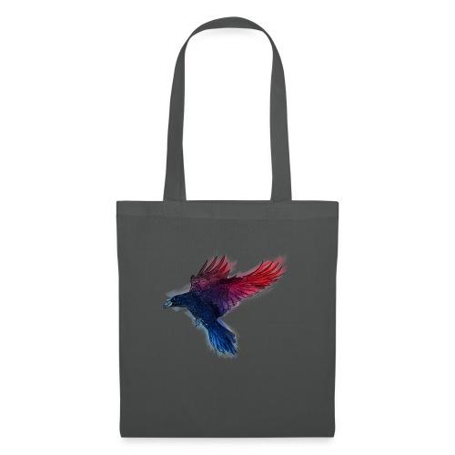 Watercolor Raven - Stoffbeutel