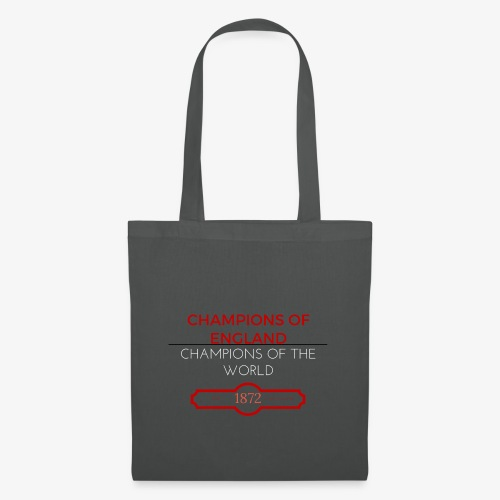 CHAMPIONS OF ENGLAND, CHAMPIONS OF THE WORLD - Tote Bag