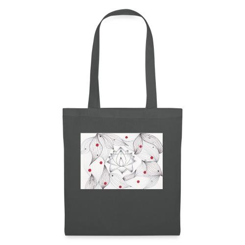 Lotus Dots - Borsa di stoffa